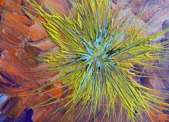 """Wall Decor- Original Painting Size 12"""" by 12"""" Free Shipping"""