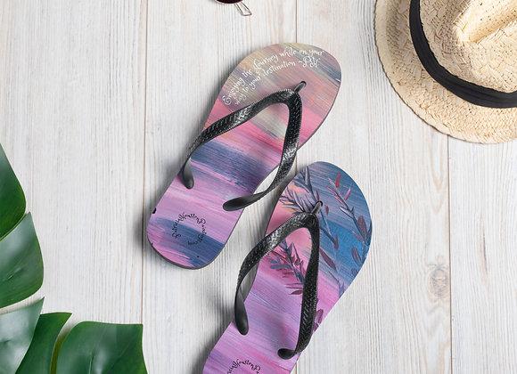 Flip-Flops~ Designed by PatriciaHoustonPaintings.com