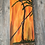 """Thumbnail: Oil On Canvas Painting- Large 30'H x 10"""" W """" """"Abstract Coconut Trees"""""""