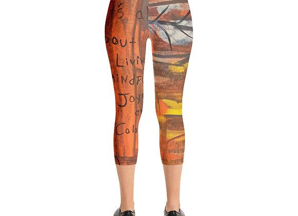 Capri Leggings- Designed by Patricia Houston Paintings