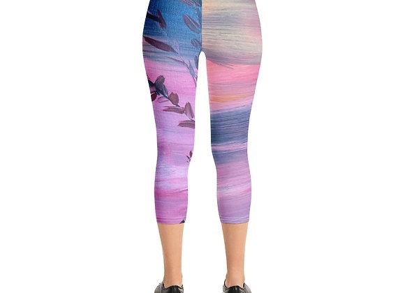 Capri Leggings~ Designed by Patricia Houston Paintings