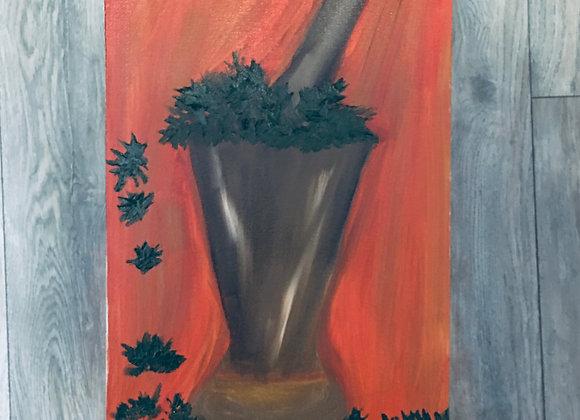 El Pilon- Original Oil on Classic Stretched Canvas