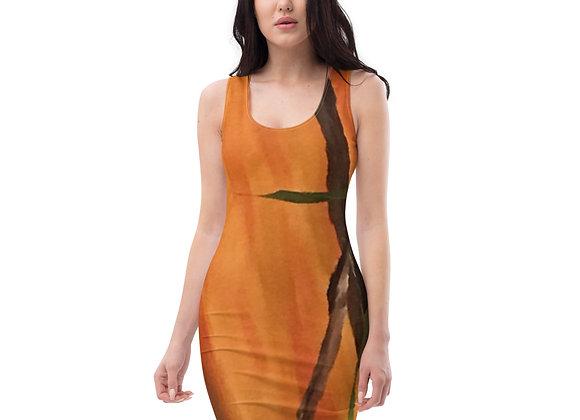 Sublimation Cut & Sew Dress Designed by PatriciaHoustonPaintings.com
