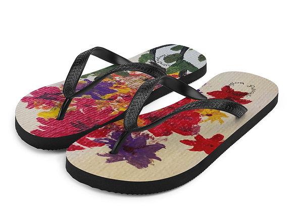 Flip-Flops~ by PatriciaHoustonPaintings.com