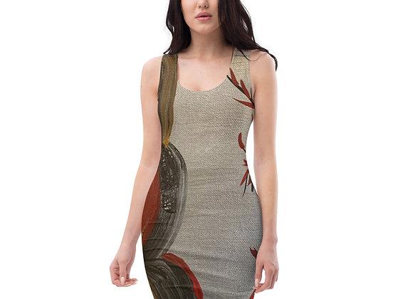 Sublimation Cut & Sew Dress~ Original  Designed by PatriciaHoustonPaintings.com
