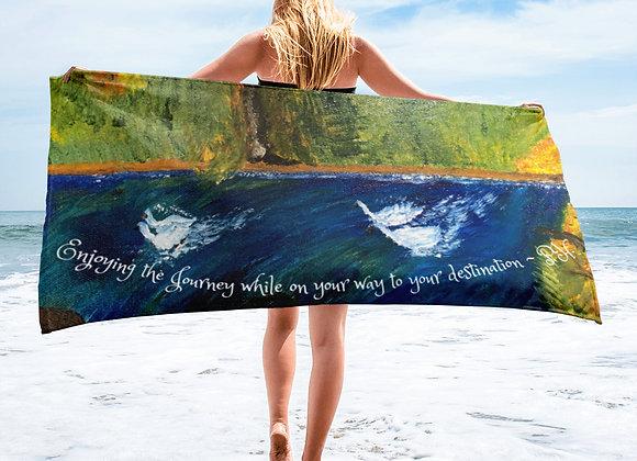 Towel~ Designed by PatriciaHoustonPaintings.com