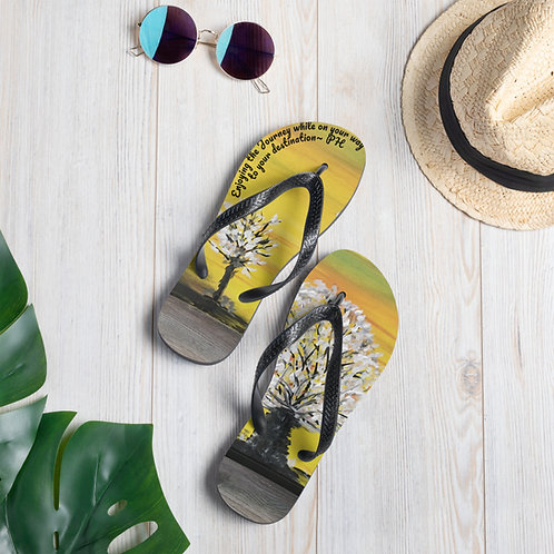 Flip-Flops designed by Patricia Houston Paintings