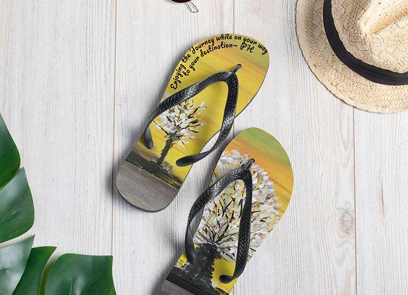 Flip-Flops designed by PatriciaHoustonPaintings.com