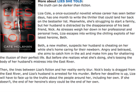 Enter to win Lies She Told