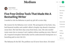 Five Free Internet Tools That Helped Me Become A Bestseller