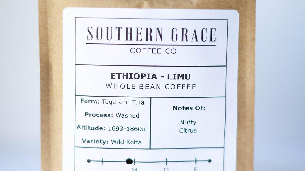1lb. Ethiopia - Limu (Whole Bean Coffee)