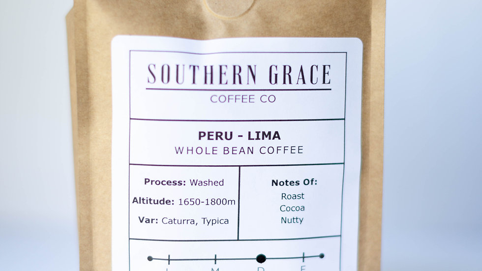 1lb. Peru - Lima (Whole Bean Coffee)