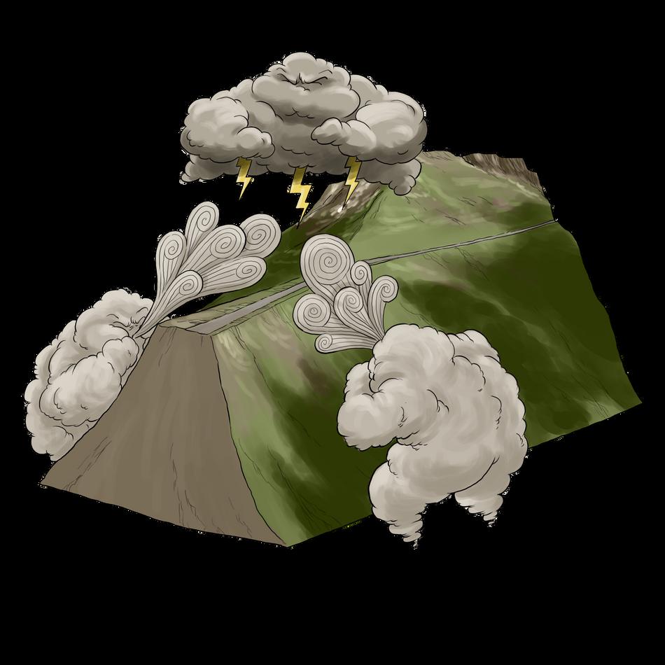 Schéma géologie