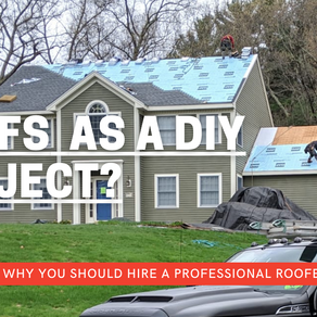Roofs as a DIY Project? 4 Reasons Why You Should Hire a Professional Roofer
