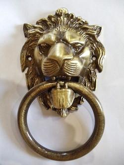 Лев, Античная бронза