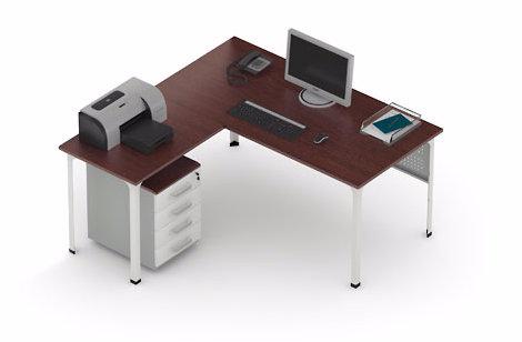 Стол офисный угловой П1
