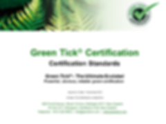 GreenTick_Certification_Standards_Issue6