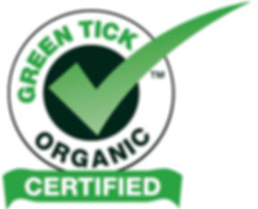 The official Green Tick Sustainable Registered Trademark