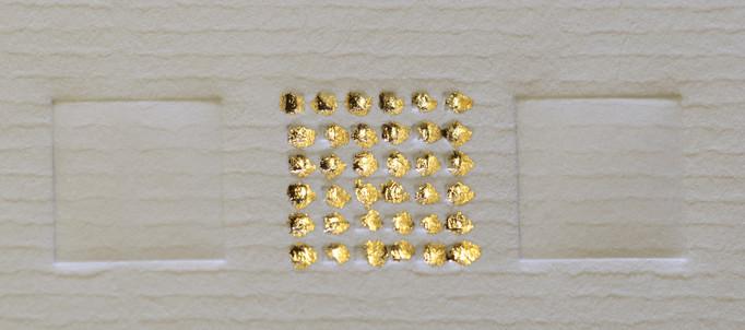 Melissographia Gold embossing