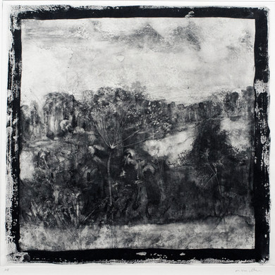 Landscape (from Between the West Wind and Yellow Clay folio) by Marcus Vergette