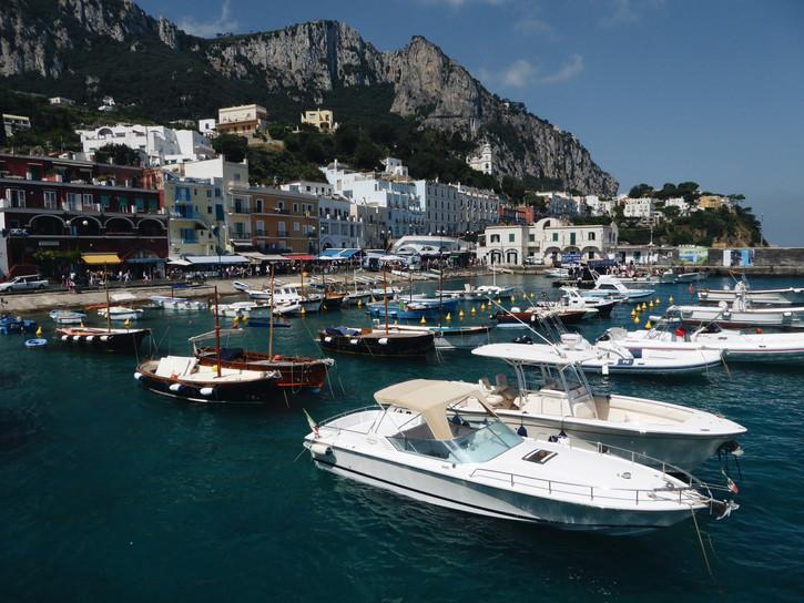 Amalfi Coast and Capri, Italy.