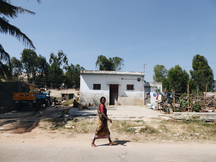 Rural Bangalore, India.