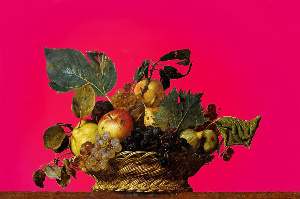 Caravaggio, Basket of Fruit, still life painting