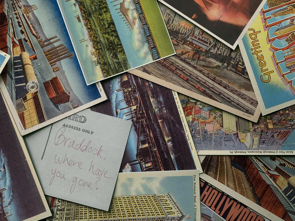 Braddock Pittsburgh Postcards Tony Buba Lightning Over Braddock