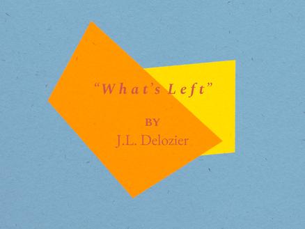 """""""What's Left"""""""
