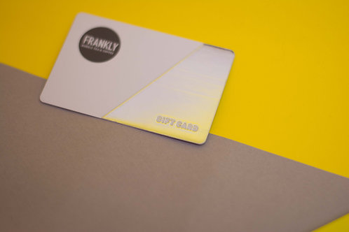 Gift Card - Silver