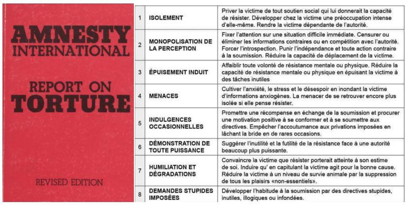 Amnesty International : report on torture