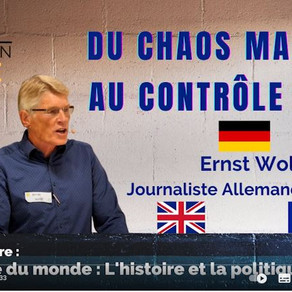 Du chaos maximal au contrôle total, par Ernst Wolf