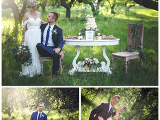 Spring Orchard Wedding Styled Shootout