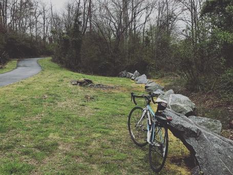Paved Bike Path Across Brevard