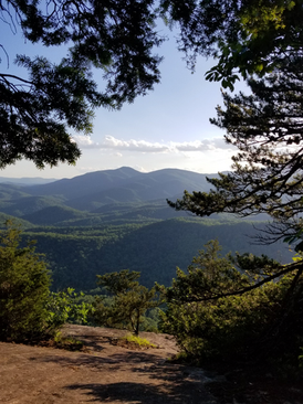 Looking Glass Rock Hike