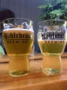 Cheers at Noblebrau!