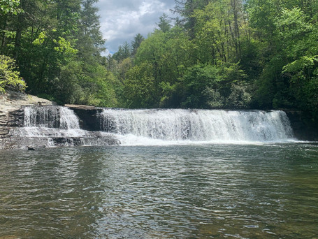 Hooker Falls in Dupont Forest