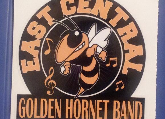 EC Golden Hornet Band Car Decal