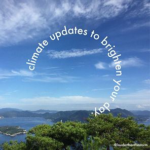 Postive Climate Updates to Brighten Your Day