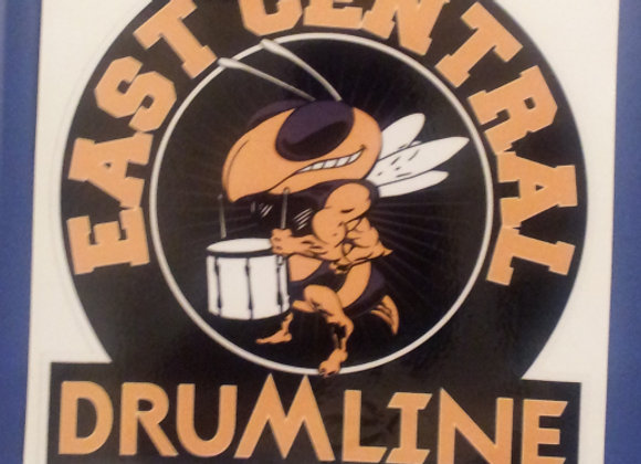 EC  Drumline Car Decal