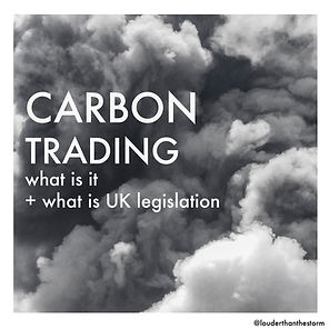 Carbon trading - what is the UK legislation and is it Effective?