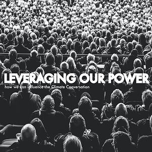 Leveraging our power as the public