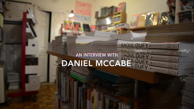An interview with Daniel McCabe, the owner of Magalleria