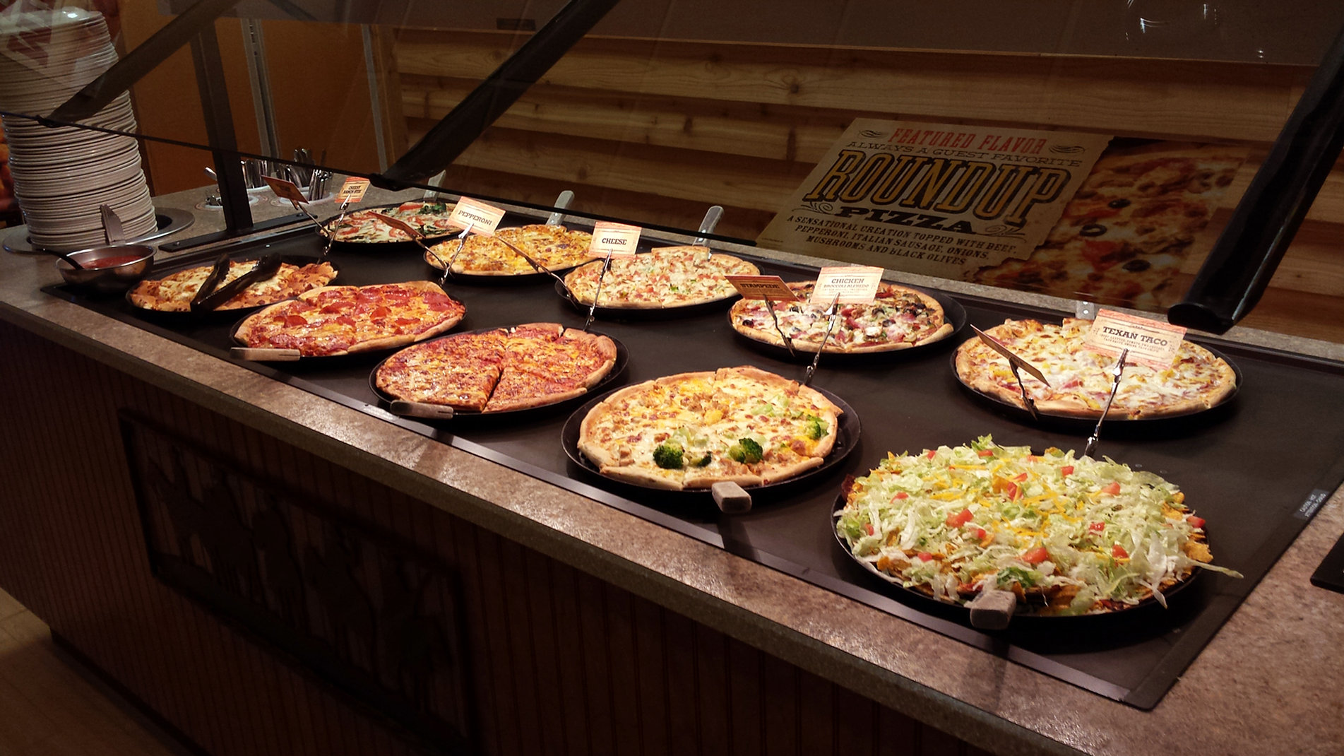 Pizza Ranch is a family-friendly buffet restaurant offering pizza, chicken, salad bar and dessert. 4/4(8).