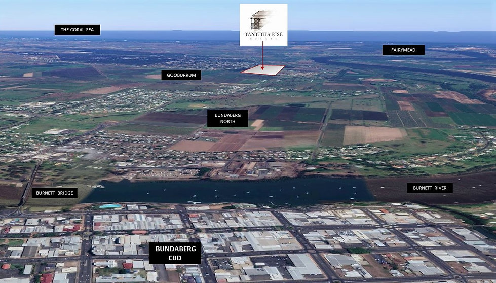 Bundaberg Region_Tantitha Rise Location