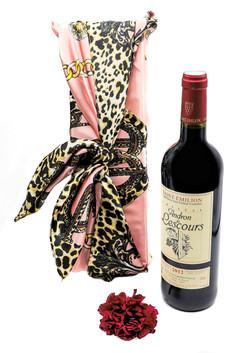 Coffret cadeau  grand vin de Bordeaux Médoc