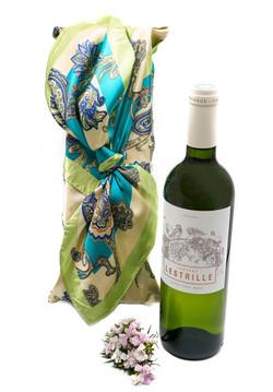 Coffret cadeau vin blanc Lestrille Entre deux mers