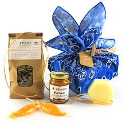 Coffret miel et tisanes artisanales de Gironde