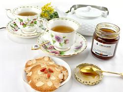 coffret tisanes et miel
