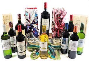Coffrets cadeaux grans vins de Bordeaux